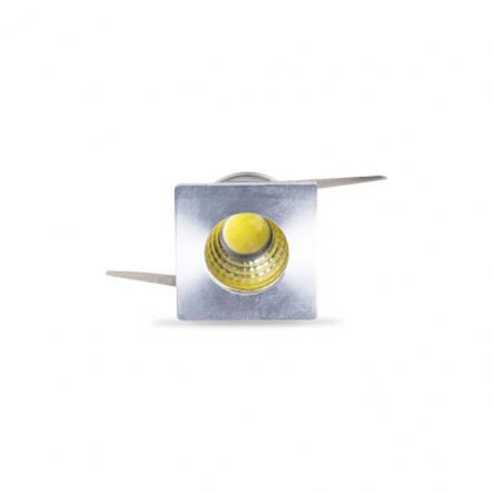 Светодиодный светильник Feron G772 Led 3W/230V алюминий, квадрат 6500K - 1
