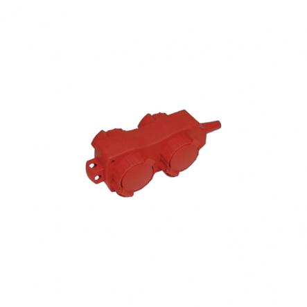 Удлинитель ИЕК У02/02В 4места с защ. крышками 2Р+РЕ/5м. 3х1мм2 16А - 1