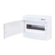Щит наружный распределительный ECT 12PO (12модулей, белая дверь) ETI