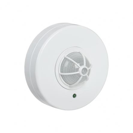 Датчик движения IEK ДД 024 белый 1100 Вт радиус 120-360град.,6м IP33 арт. LDD11-024-1100-001 - 1