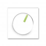 Центральная пластина для диммера белый/зеленый лед Neo