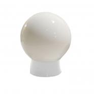 Светильник 415G плафон стеклянный: шар опаловый гладкий 220В / 60Вт