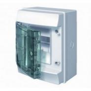 Щит настенный ABB Mistral 4 модуля прозрачная дверь IP65