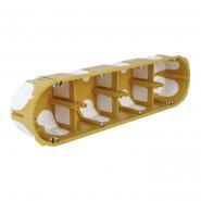Коробка установочная г/к KPL64-50/4LD  280х68х50мм с эластичными выводами