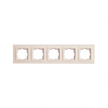 Рамка 5-я, Mono Electric, DESPINA (белый) - 1