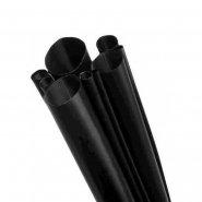 Трубка термоусадочная RC 38/19Х1-C чёрная RADPOL RC ПОЛЬША