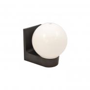 Светильник настенный шар опал гладкий Е-27, 613 АСКО