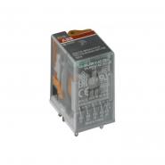 Цокольное реле 2 контакта ДС24 ABB CR-M24 ДC2L 1SVR405611R1000