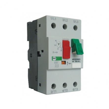 Автоматический выключатель защиты двигателя АВЗД2000/3-2 D63 400-У3 (40-63А) Промфактор - 1
