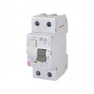 Дифференциальный автоматический выключатель KZS-2M 25A/2p/0.03mA ETI 2173126