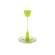 Светильник ДСО LED 24W R220 зеленый с проводом
