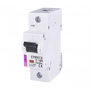Автоматический  выключатель ETI 10 1р С 125А (15кА) 2131733