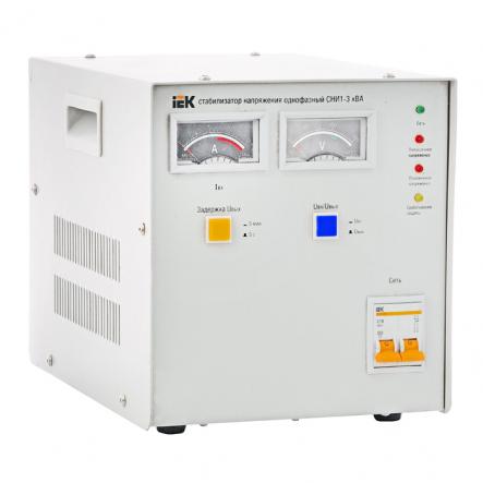 Стабилизатор напряжения СНИ1- 3 кВА - 1