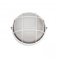 Светильник НПП 2602 60W белый-круг  IP54 с решеткой