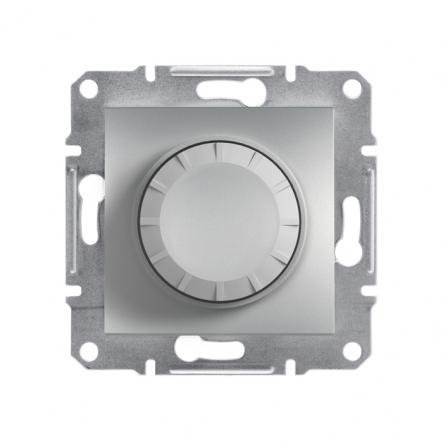 Светорегулятор поворотный ASFORA алюминий - 1