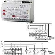 Автомат. переключатель фаз PF-451 (АПФ-451) 380В 16А 3S Электросвит