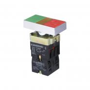 """Кнопка """"Старт/Стоп"""" XB2-BW8375 двойная с подсветкой АСКО-УКРЕМ"""
