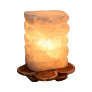 Светильник соляной Пагода на можжевельнике 1,5кг 140*140*160