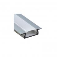 Профиль встраиваемый серебро Feron