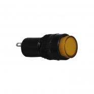 Сигнальна арматура AD22E-10DS жовта 220V АC