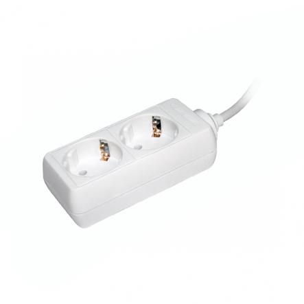 Удлинитель ИЕК У02 2гн/3метра 2P+PE 3*1мм 16A - 1