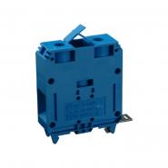Клеммная колодка однорядная   RS 120/1 синяя
