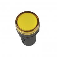 Светосигнальный индикатор IEK AD16DS (LED) матрица d16мм желтый 24В AC/DC