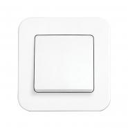 Выключатель 1кл. белый ROLLINA VIKO