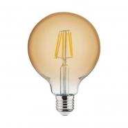 Лампа Filament шар 6W E27 2200K/50