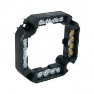 Клеммник S-96 - четырёхгранный 16х4 мм.кв. 86х86х24