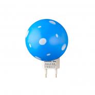 Ночник Lemanso Гриб 3 LED 6500K с сенсором синий