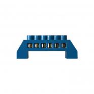 Нулевая шина в пластиковом корпусе ВС-6А 6*9мм, 6 отверстий