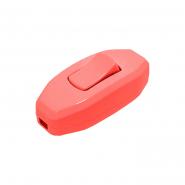 Выключатель на бра красный  DE-PA