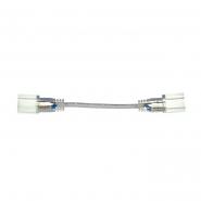 Коннектор двухсторонний #51/3 для LED NEON 5mm + пров2 pin 220V