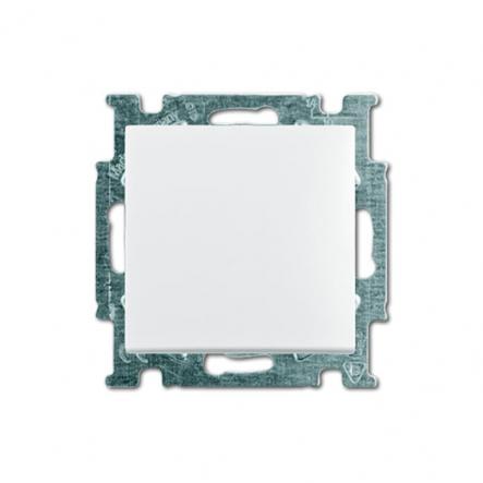 Выключатель одноклавишный встраиваемый ABB Basic 55 белый - 1