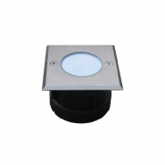 Подсветка для пола 12*0.1W IP67 BLUE RECESSED LED