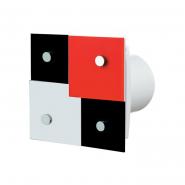 Вентилятор настенно-потолочный ВЕНТС 100 Домино 1 осевой декоративный