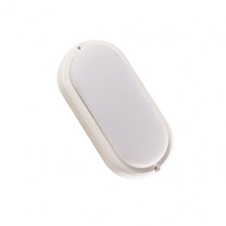 Светильник светодиодный UL308 8W IP54 4000К 560Лм 185*95*40mm овал белый - 1