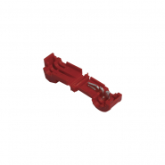 Зажим-ответвитель, прокалывающий ЗПО-2 0,5-1,5 мм2 красный (100 шт) ИЭК