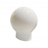 Светильник 715G плафон стеклянный: шар опаловый гладкий  220В / 60Вт