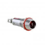 Сигнальная арматура AD22C-8 AC 220В LED красная