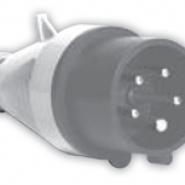 Вилка  IV (IP 44), 16A, 230V, 3n SEZ