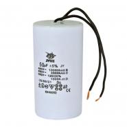 Конденсатор для запуска СВВ-60 50мкФ 450В вывод провод 50*92мм