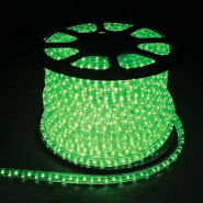 Дюралайт светодиод. 2-пол. зеленый