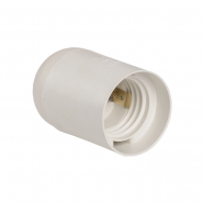 Патрон подвесной пластик Е27 белый
