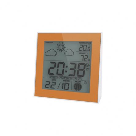 Термо-гигрометр цифровой с часами Т-06 Украина - 1