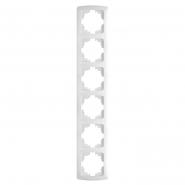 Рамка 6-я  вертикальная белый VIKO Серия CARMEN