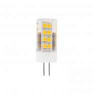 Лампа светодиодная LB-423 AC/DC12V 4W 33leds G4 4000K Feron