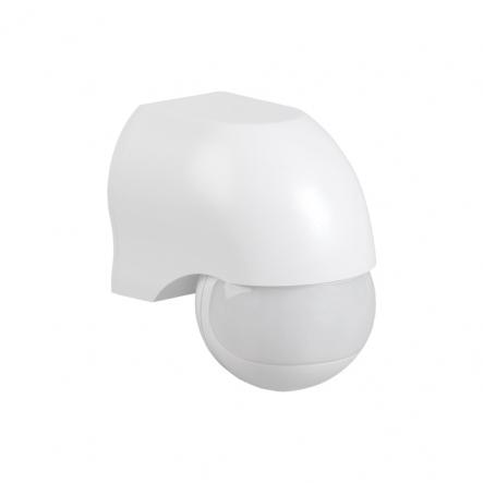 Датчик движения IEK ДД 010 белый 1100 Вт радиус 180град.,10м IP44 арт. LDD10-010-1100-001 - 1