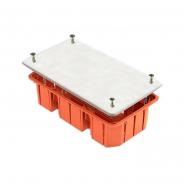 Коробка монтажная установочная для сплошных стен 172х96х45мм